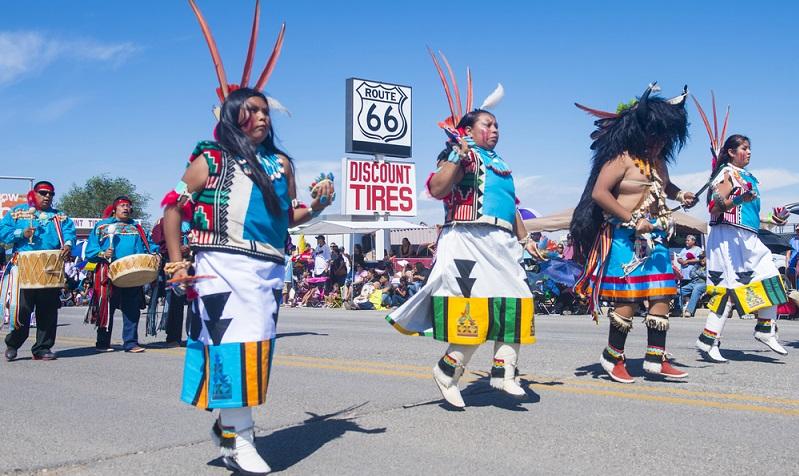 Der wohl längste Streckenabschnitt meiner Reise stand bevor. 440 Meilen bis zu meinem nächsten Ziel, der Stadt Gallup in New Mexico. (#03)