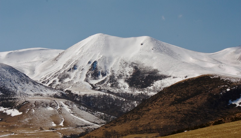 Auf die höchsten Gipfel der Auvergne kommt man auch mit dem besten Wohnmobil nicht. (#2)