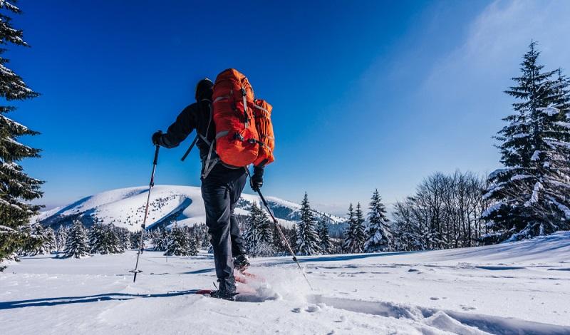 Für solche Traumrouten in einer verschneiten Landschaft sind Schneeschuhe zwingend vorgeschrieben. (#2)