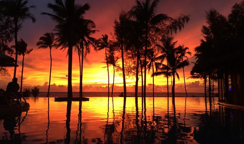 Eigentlich ist Khaolak vor allem für seine traumhaft schönen Strände und Buchten bekannt.