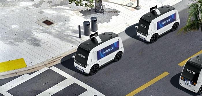Neolix: Autonome Fahrzeuge mit der Lizenz für die Innenstadt ( Bildnachweis: NEOLIX )